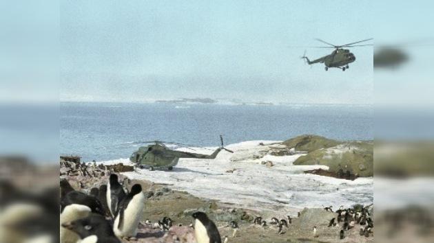 El 'Vasili Golovnín' partió desde Buenos Aires para las bases antárticas