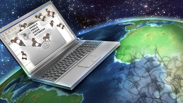 'Hackers' usan el miedo ante el ébola como cebo para infectar con 'malware'