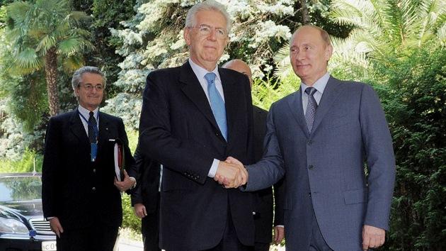 Putin: los proyectos ruso-italianos no serán afectados por la crisis económica