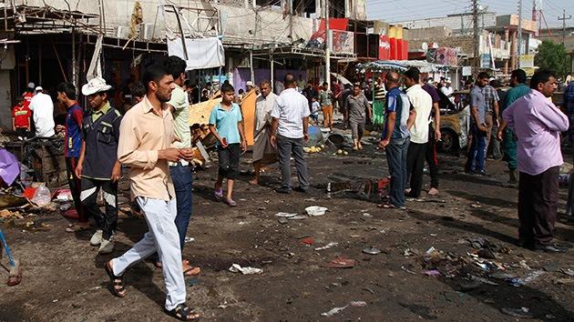 Fotos: Al menos 70 muertos en una serie de atentados que sacuden Irak