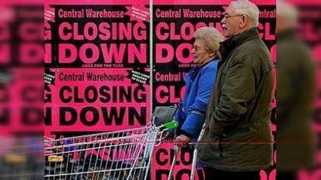 La economía inglesa muestra los peores índices de crecimiento en 65 años