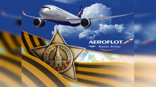 La compañía rusa 'Aeroflot' ofrece vuelos gratis a los veteranos de la Gran Guerra Patria