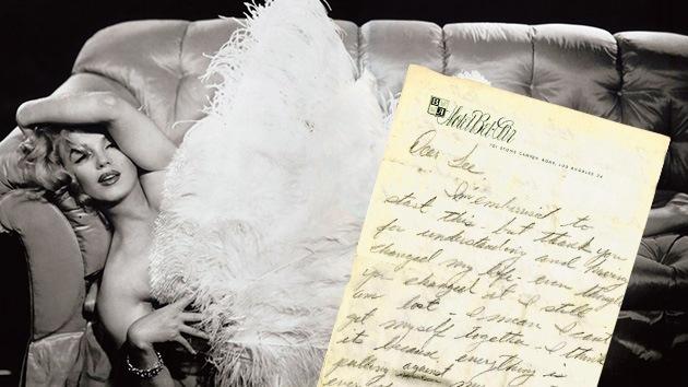 """Subastan la carta suicida de Marilyn: """"Siento que ya no pertenezco al género humano"""""""