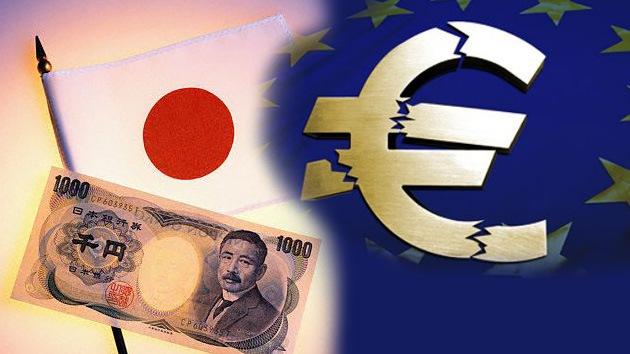 Japón, listo para el colapso de la zona euro