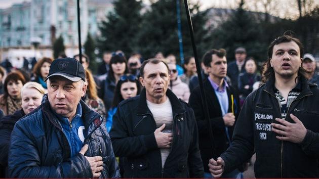 """""""Kiev y Occidente no saben quién vive en el este del país, pero quieren destruirlos"""""""