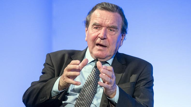 """""""EU hat große Fehler gemacht"""": Ex-Bundeskanzler Schröder wirft Kiew Krieg gegen den Donbass vor"""