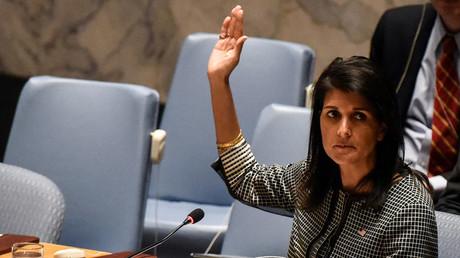 Nikki Haley, US-Botschafterin bei den Vereinten Nationen