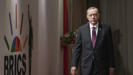 Staatsbesuch in Deutschland? Präsident Erdogan am Freitag auf dem BRICS-Gipfel in Südafrika
