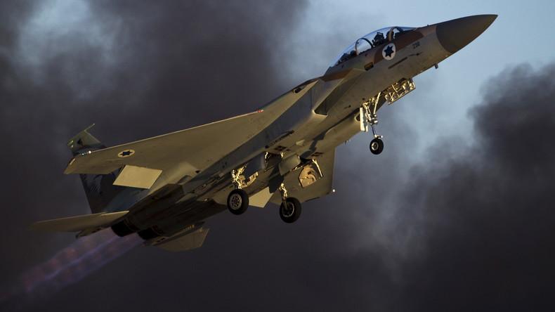 Israel gesteht über 200 Luftangriffe auf Ziele in Syrien ein