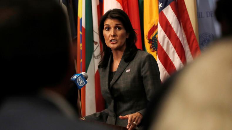 """UN-Gesandte der USA warnt Syrien und seine Verbündeten: """"Testet uns nicht noch einmal!"""""""