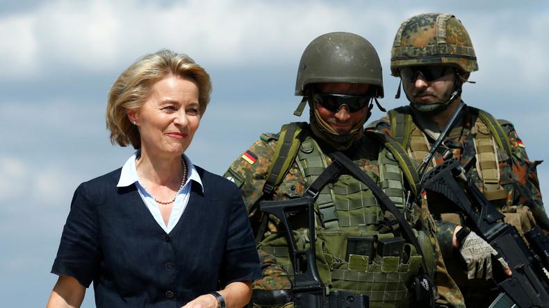 Ursula von der Leyen bespricht in Bagdad laufenden Bundeswehr-Einsatz