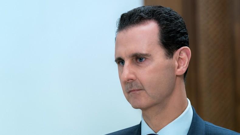 """""""Ergebnis üblicher Arroganz Israels"""": Assad bekundet Putin nach Abschuss der Il-20 sein Beileid"""