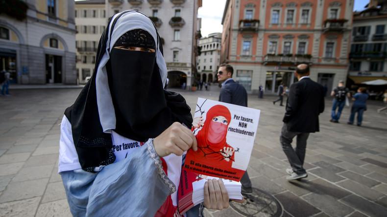 Schweizer Kanton St. Gallen führt Verhüllungsverbot ein