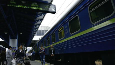 Hauptbahnhof in Kiew