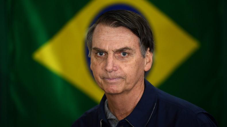 "Brasilianischer Präsidentschaftskandidat Bolsonaro kündigt ""Säuberungen"" an"