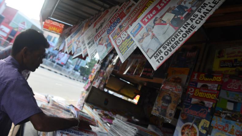Regierungskrise Sri Lanka: Präsident verschiebt Einberufung des Parlaments