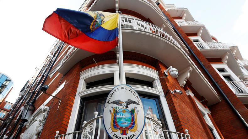 "Assange: ""Ecuador will mich an die USA ausliefern"""