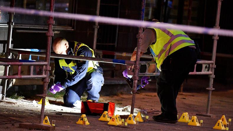 Bandenkrieg in Schweden: Rivalisierende Gangs eröffnen das Feuer auf offener Straße