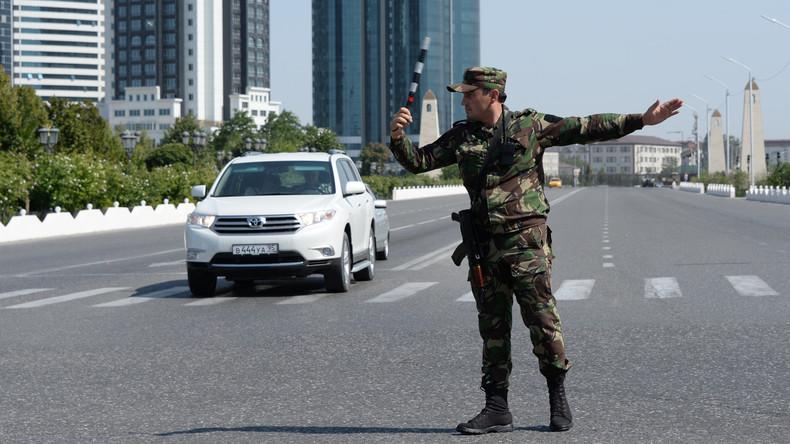 Frau sprengt sich vor Polizeiposten in Tschetschenien in die Luft