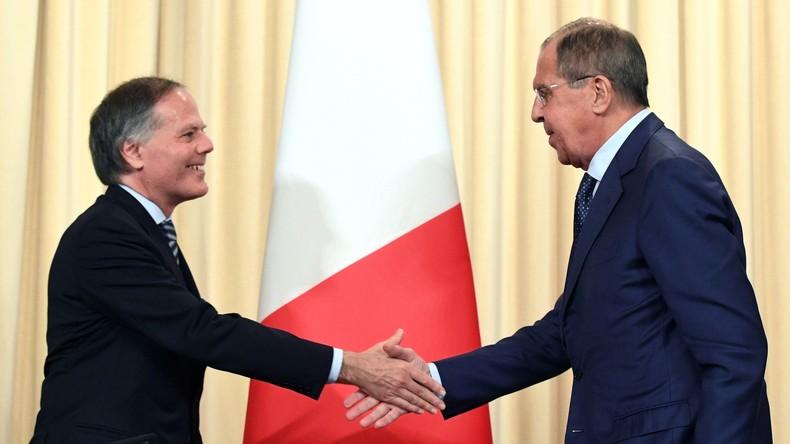 Wir wissen es zu schätzen, dass Italien Vertrauen zu Russland aufrechterhält