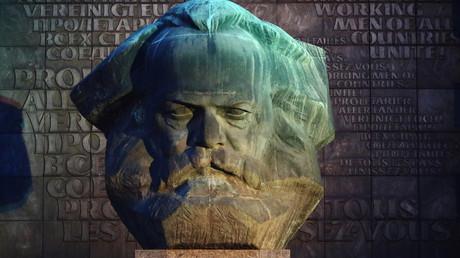 Vorwärts, in die Vergangenheit? Karl-Marx-Monument in Chemnitz.