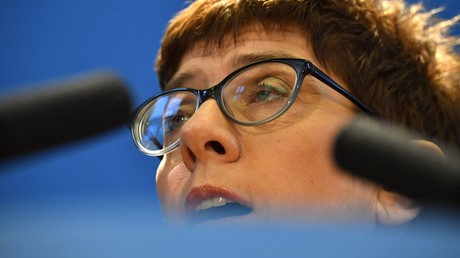 Kandidatin Kramp-Karrenbauer im November in Berlin