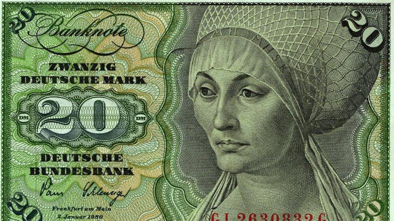 Bundesbank: Noch Milliardenvon D-Markim Umlauf