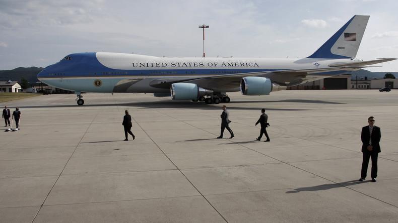 Trump besucht bei Zwischenlandung US-Truppen in Ramstein