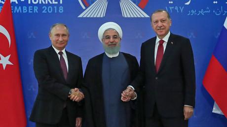 AFP PHOTO / Iranisches Präsidentenamt