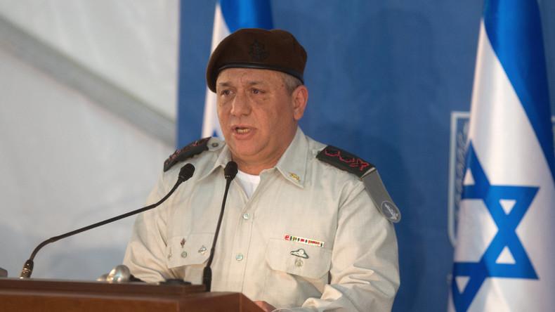 Israelischer Stabschef bestätigt Waffenlieferung an syrische Dschihadisten