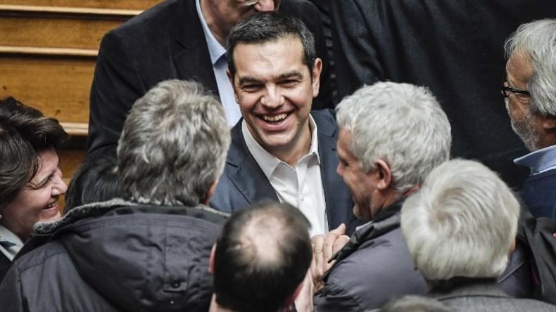 Weg frei für Nato-Annäherung Mazedoniens: Griechischer Premier Tsipras gewinnt Vertrauensabstimmung