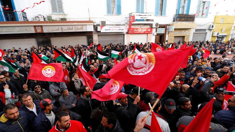 Generalstreik legt öffentliches Leben in Tunesien lahm