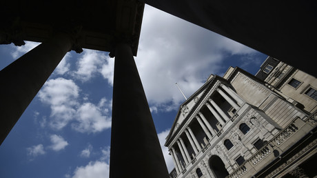 Sitz der Bank of England in London