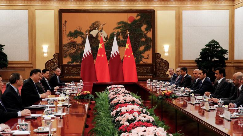 China strebt engere Zusammenarbeit mit Katar an