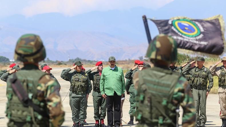 USA bieten venezolanischen Militärs Sanktionsausnahmen an