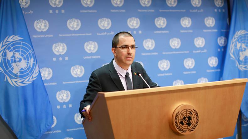 Venezuelas Außenminister: Es gibt keine humanitäre Krise im Land