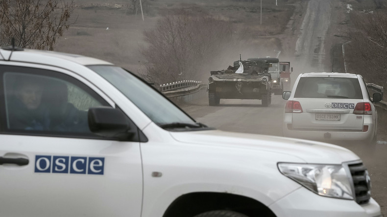 OSZE: Anschuldigungen der Ukraine gegen Russland falsch - kein russisches Militär im Donbass