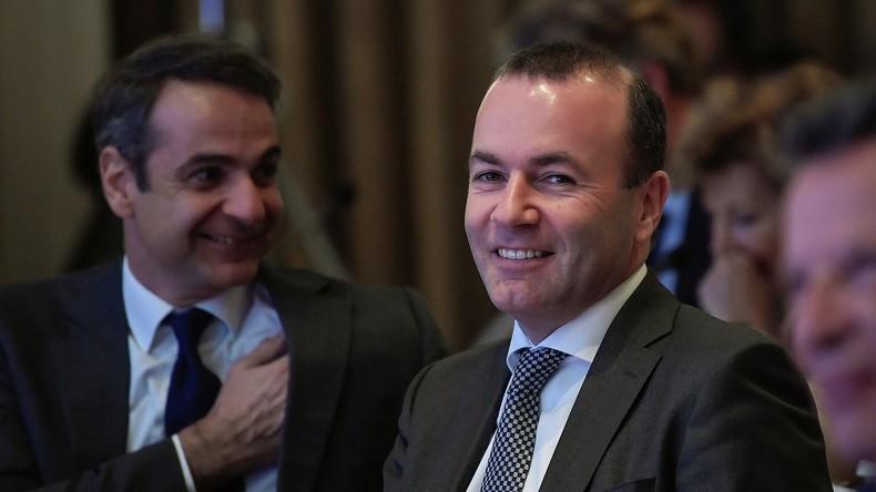 """Manfred Weber fordert einen """"Finanzstaatsstreich"""" in Griechenland"""