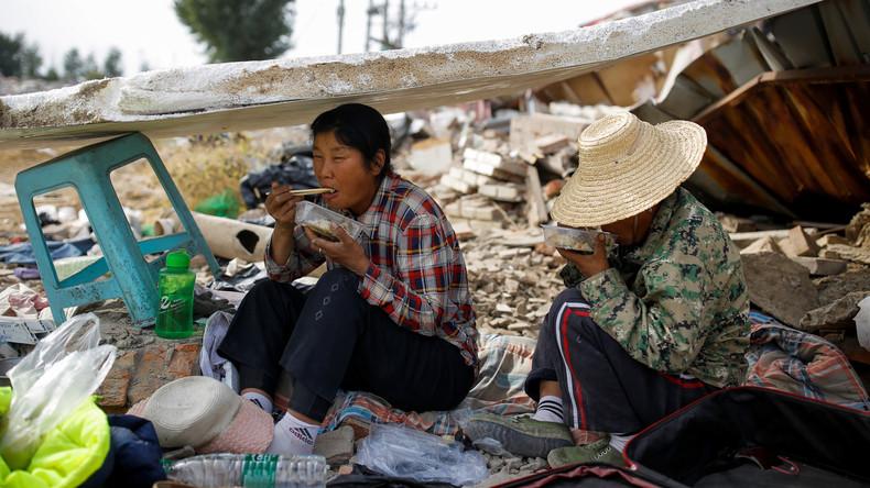 Pläne Chinas: Bis 2020 soll die extreme Armut im Land besiegt sein
