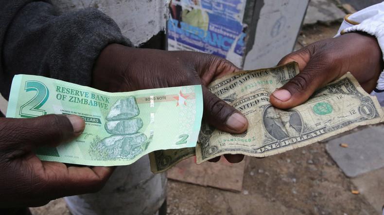 Wirtschaftskrise in Simbabwe: Notenbank gibt Bindung an US-Dollar auf