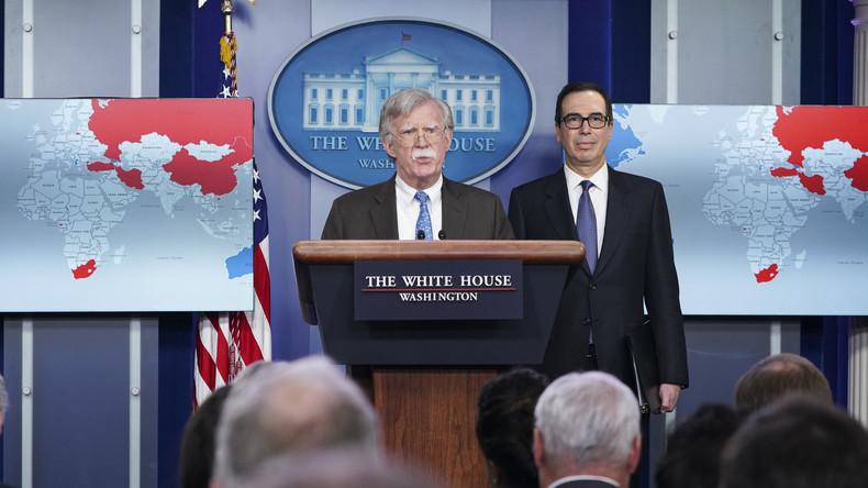 """Sicherheitsberater Bolton: USA wollen """"breite"""" Regimewechsel-Koalition gegen Venezuela aufbauen"""
