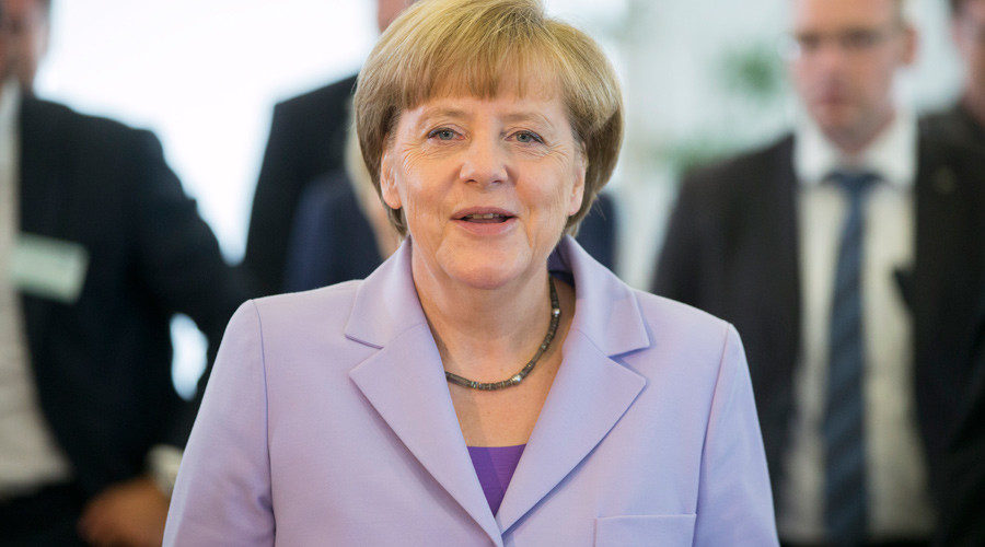 German Chancellor Angela Merkel ©Axel Schmidt
