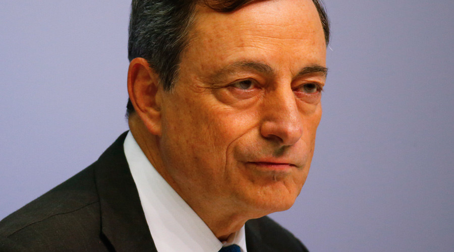 European Central Bank president Mario Draghi ©Kai Pfaffenbach