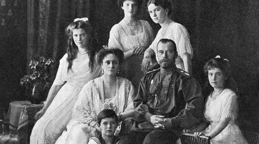 Russian Emperor Nicholas II and his family. © RIA Novosti