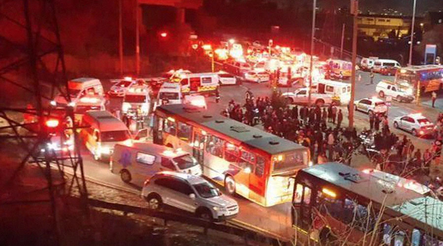 Two trains collide in South Africa, over 300 injured
