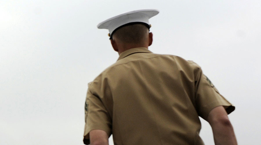 Marine surprises little brother after being away for 6 months (VIDEO)