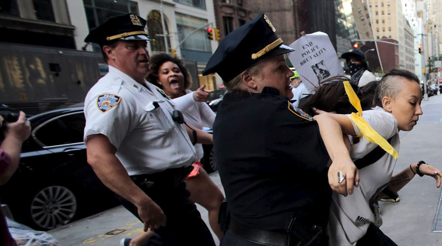 Dozens arrested in NYC as protesters mark anniversary of Eric Garner's death