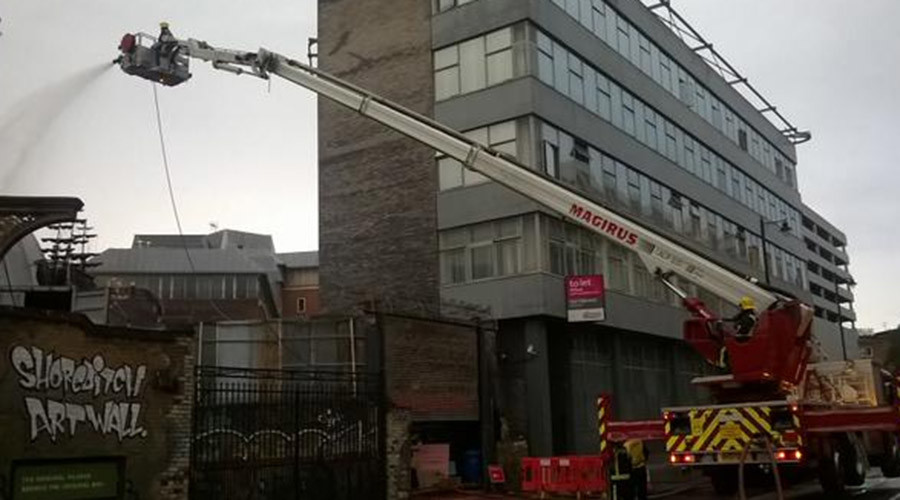 'Hipster' humor backfires on London firefighters after pop-up restaurant blaze