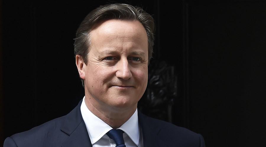 Britain's Prime Minister David Cameron. © Toby Melville