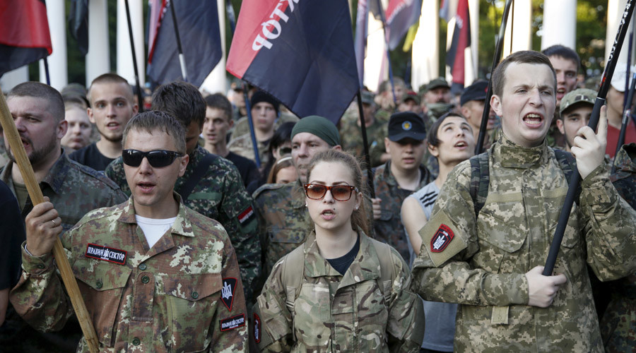 Right Sector:  Kiev playing good cop-bad cop against Ukrainian rebels